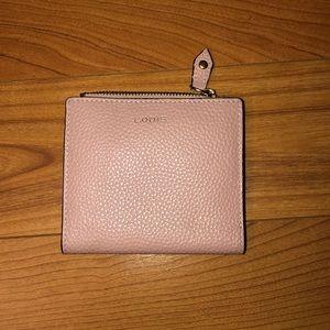 LODIS Women's Wallet   Pink Leather